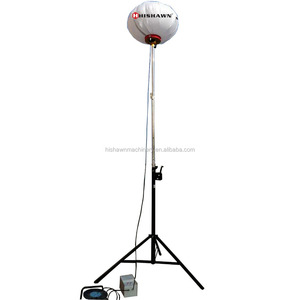 2x1000w metal halide mobile light tower for construction