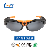 H.264 720P hd video camera glasses support up to 32GB SD card sunglasses