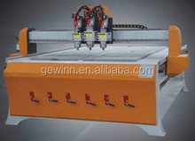 Woodworking CNC machine for board cutting and drilling