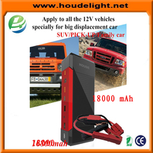 Portable 12 Volt Car Battery Jump Starter Booster and Power Bank with bigger clamp 21000mah for all vehilce