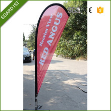 high quality custom flag cheap teardrop flag beach banner flag