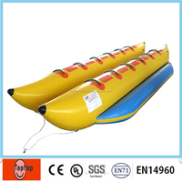 PVC Material Cheap Inflatable Banana Boat Military Inflatable Boat for sale