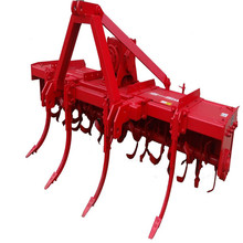 Tractor mounted cultivator soil loosening machine farming machine