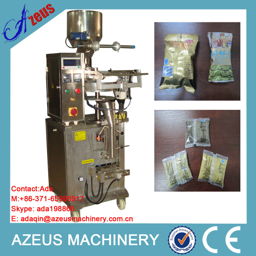 2015 hot sale different models plantain chips packing machine