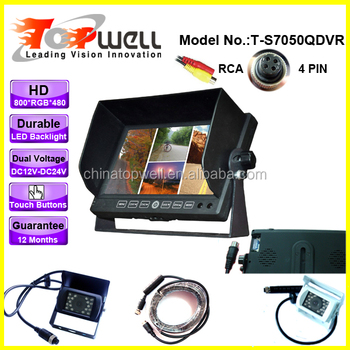 HD Dual Voltage Rear View System