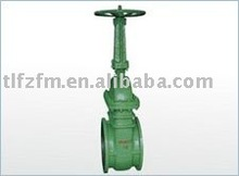 vacuum gate valve/expoxy coated/cast steel/From China