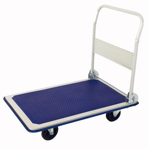 foldable platform hand trolley/folding hand truck
