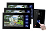 7 Inch Color TFT video Intercom Kit digital camera,security monitor