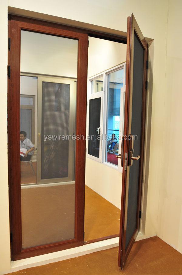 Safety mesh screen aluminum window and door buy window for Mesh for windows and doors