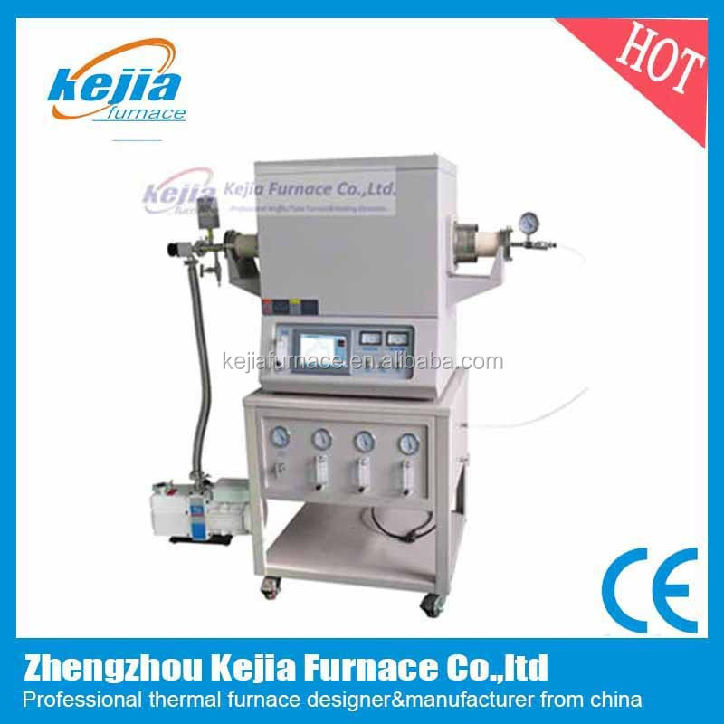 Single zone chemical vapor deposition CVD vacuum tube furnace for sale