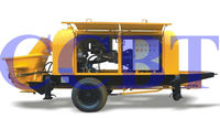 stationary trailer concrete pump with electrical Motor