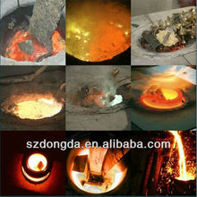 foundry equipment using 300kg Lead Electric Melting Furnace