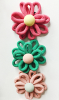 elegant small flower chinese knot for baby's hair accessories