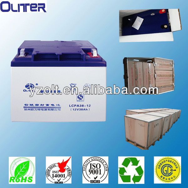12V Batteries AGM long life deep cycle battery industrial batteries