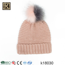 JAKIJAYI brand yiwu factory popular women winter hat knit beanie hat