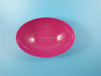OEM Custom Round Reusable Plastic Bowl with Handle