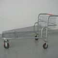 Metal heavy-duty Hand transport Trolley for warehouse