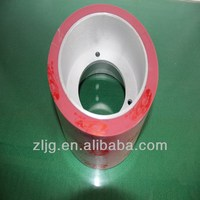 6 inch red Epdm rubber roller the parts of rice mill used for rice hulling
