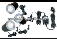 stainless steel inground deck light kit with driver