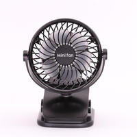 Alibaba Best Selling New Design 360 Degree Rotatable Brushless Pure Copper Motor Portable Mini Electric USB Stand Fan