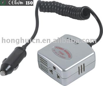 Mini car inverter 75W