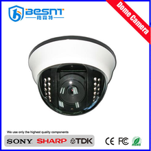 Indoor Analog 700 TVL Array 1/3''SONY Sensor IR25m Dome CCTV Camera with IR cut (BS-631)