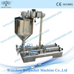 G2WTD Table-top type automatic mixer with heater filling machine