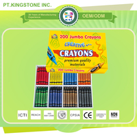 Manufacturers price silky sense colorful box crayons