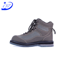 Latest Design Rubber Boots Genuine Leather Safety Winter Shoes