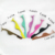 Rainbow Eyelash Tweezers Titanium Multi Color Eyelash Applicator Stainless Steel Professional Eyelash Extension Tweezers
