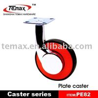 Heavy duty adjustable casters