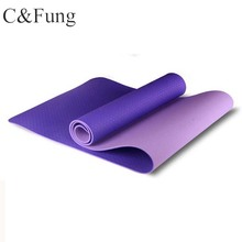 High Quality 100% TPE Yoga Mat With Custom Logo