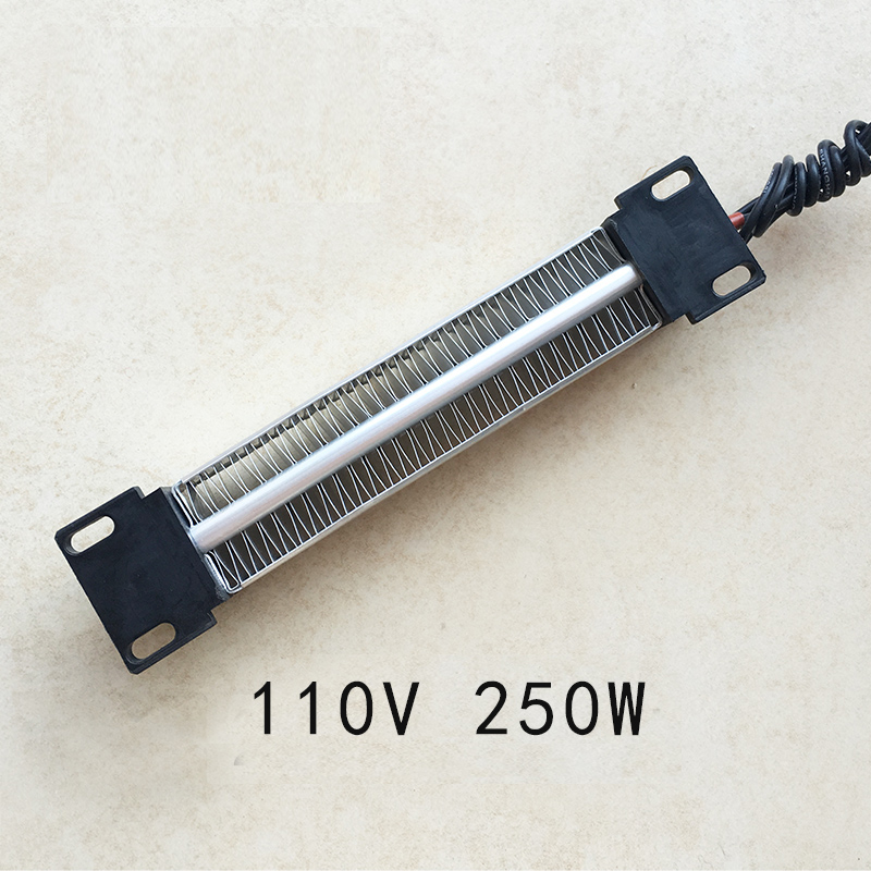 250W 110V Insulated PTC ceramic air heater Electric Heater Parts 140*32mm