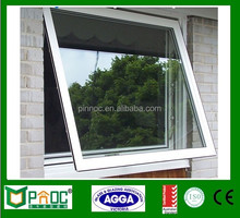 aluminum glass window & door and awning window double glass with grill window