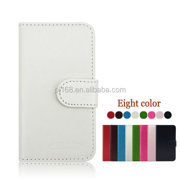 Wholesale Stylish Phone Protective Leather Flip Cover Case For HTC Desire 300