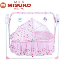 Outdoor hanging cradle bed electric baby automatic cradle swing