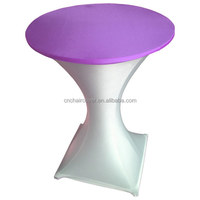 Colorful Cocktail Spandex Table Covers Wedding