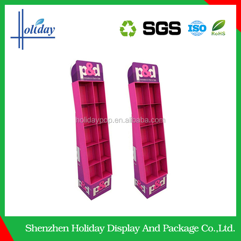 promotion Cardboard Display Racks for hanging items