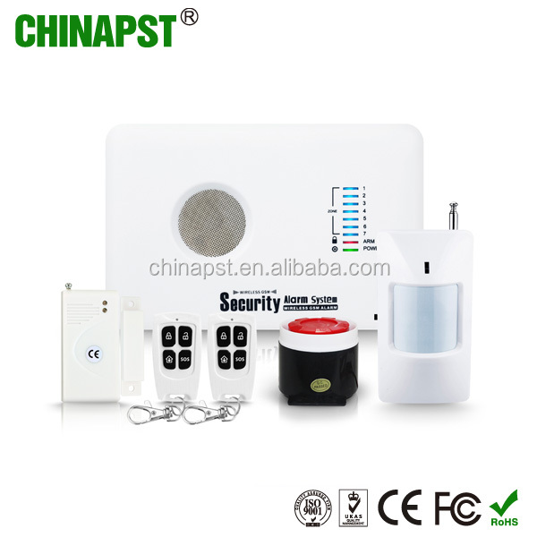 Best Remote Control Safety Intrude Security Gsm Home Alarm System With App on Google Play & App Store PST-G10C