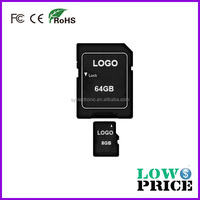 Wholesale cheap cost 1 dollar 4gb mobile memory card price with Customized logo Promotional