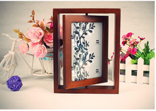 European high-grade rotating photo frame double-sided picture frame