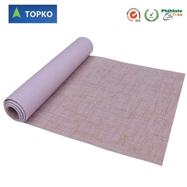 Wholesale Premium eco friendly organic natural jute yoga mat