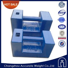 changzhou M1 class 10kg crane test weight, load test weight