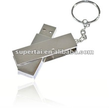 Metal swivel usb flash disk 2.0 for promotional