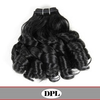 Fashion romance curl 100 Brazilian remy hair extension