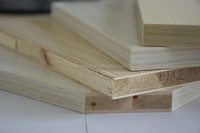 E1 Formaldehyde Emission Standards and poplar, paulownia,tung Core Material 18mm wood block board