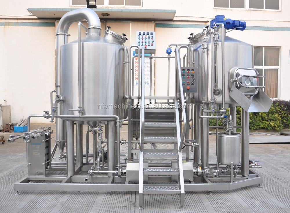 500liter electric heating beer brewing system