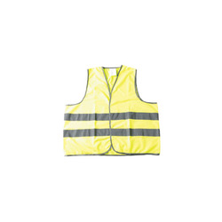 Yellow Traffic Hi Vis Polyester Safety Vest Reflective Working Jacket Workwear