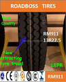 Chinese factory net price with high quality truck tires 13R22.5 RM911Pattern Factory Supply