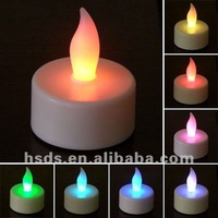LED Decorative Tea Light Candle for Birthday Color Changing
